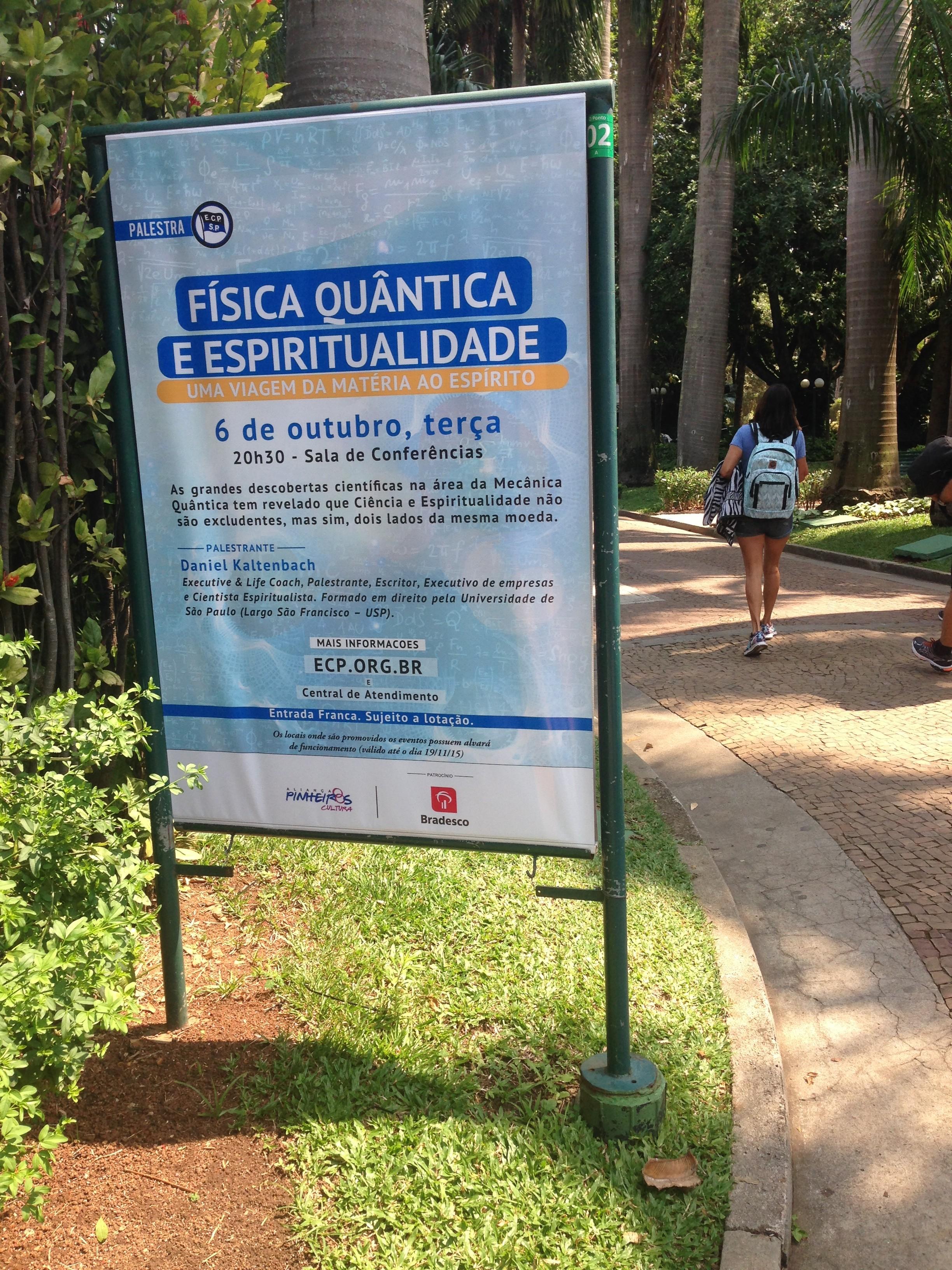 foto Clube Placa Palestra