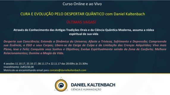 Convite curso Despertar Quântico para facebook